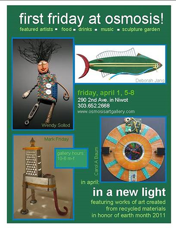 In A New Light at Osmosis Gallery, Niwot CO